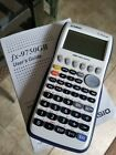 Casio fx-9750GII Graphing Calculator fx-9750G2 With Users Manual