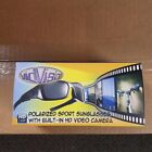 VidVision Polarized Sport Sunglasses built in 5MP HD Video Camera (New) 3 colors