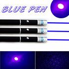 3PCS 10Miles 1mW 405nm Visible Light Top Quality Blue Laser Pointer Lazer Power