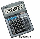 Canon 12 digit calculator HS-1220TUG SOB ten million unit display New