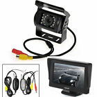 "18 IR LED Rear View Camera Wireless Reverse System with 4.3 ""LCD Monitor UPS"