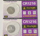 2 Pack CR1216 1216 3v 30mAh Lithium Coin Cell Batteries Exp 2020