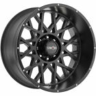 20x12 Black Vision Rocker 412 6x5.5 -51 Wheels 33X12.5X20 Tires