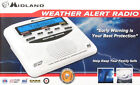 Midland WR120EZ NOAA Weather Alert All Hazard Public Alert Certified Radio