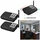 7-Channel Security Wireless Intercom System for Home Office LONG RANGE 2 Station