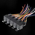 UTV Kawasaki Teryx 750 Mule 610 4x4 6x6 RZRS XP2 XP4 XRS 5pack relay harness set