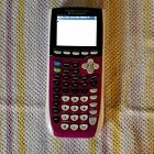 Texas Instruments ti 84 plus c silver edition color screen. With charger