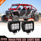 """4""""INCH 16W Led Work Light Bar SPOT Offroad 4WD ATV Jeep Truck VS  (Pack of 2)"""
