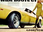 1969 AMC JAVELIN SST-SEXY VINTAGE GOODYEAR AD-print/poster/sign/photo/art-1970