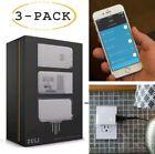 Zuli Smartplug Smart Plug Home Control Dimmer Energy Monitor & Timer -  3 Pack