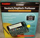 New•Franklin•Bookman•German/English Professor•Electronic Translator•DBD-640•Rare