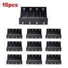 10pcs Plastic Battery Holder Storage Box Case for 4x 18650 Battery Black WB0
