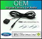 Ford Transit AUX lead, Ford 6000 CD car stereo AUX in cable iPod iPhone Android