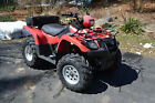 2003 suzuki vinson LTA500 project quad atv 4x4 utility 500cc AWD with plow