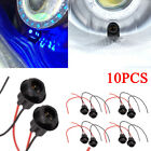 10pcs Car Socket T10 W5W 168 194 Connector Extension LED Bulbs Wedge Light LOT