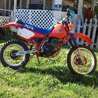 1985 Honda XR  1985 honda xr350r motorcycle