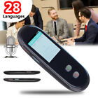 2.4'' Travel Instant Smart Voice automatic Translator Support 28 Languages