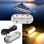 12V LED Underwater Pontoon Marine Yacht Boat Transom Light High Intensity White