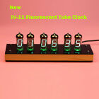 New Version IV-11 VFD Nixie Tube Clock DIY KIT. Nice Wooden Housing. IR remote