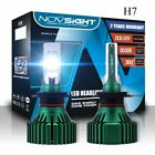 Nighteye H7 LED Car Headlight Bulb 60W 10000LM 6500K Cool White XHP50 CHIP Light