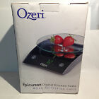 Ozeri Epicurean Digital Kitchen Scale 17 Lb Capacity Tempered Glass MC9-B12