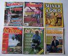 Lot of 6 Collectible 1988, '89 BACK ISSUE TREASURE MAGAZINES Lost Treasure etc.