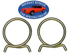 """Ford Lincoln Mercury 2"""" Corbin Style Spring Heater Radiator Hose Clamps 2pcs LC"""