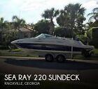 2007 Sea Ray 220 Sundeck Used