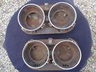 1959 Ford Galaxie Headlight Bucket Assembly Housing Trim Rings FSB-59