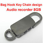 NEW 8GB Spy Voice Activate USB Flash Audio Voice Recorder Hidden Recorder Hook