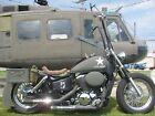"2002 Honda Shadow  Honda, Shadow, Chopper, 2002, Custom, 18"", Ape Hangers, Military,"