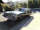 1985 Buick Hearse  1985 Buick Estate Wagon landau funeral coach