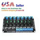 2A/5V 250V 8 Channel Low Level Trigger Solid State Relay Module w/ Fuse Arduino