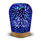 Loskii LH-963  3D LED Lights Oil Diffuser Ultrasonic Cool Mist Aromatherapy Humi