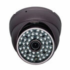 """Sunvision 480TVL Metal Outdoor Dome Camera 1/3"""" Sony 48 LEDs Night Vision (36c)"""