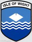 Isle of Wight County Flag Vinyl Car Window Sticker - For Inside of Window