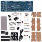 Electronic USB Home Decor 4-Digit Light Digital Clock DIY Kit LED Display