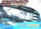 Chrome Corner Lh Rh Head Lamp Lights Cover Fits Toyota Hilux Revo M70 M80 15 17