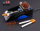 Automatic Cigarette Rolling Machine Tobacco Injector Maker Roller Cigs US
