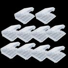 10x Plastic Case Holder Storage Box Cover for Rechargeable AA AAA Batteries