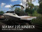 2015 Sea Ray 220 Sundeck Used