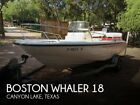 2000 Boston Whaler 18 Used