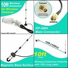 Crystal Vision Premium Surveillance Camera Cables HD Wireless Camera Antenna