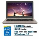 2016 ASUS 13.3 inch ZenBook Full HD 1920 x 1080 Laptop PC, Intel Core i7-6500U