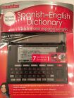 NEW FRANKLIN DBE-1500 MERRIAM-WEBSTER SPANISH-ENGLISH DICTIONARY Free Ship in US