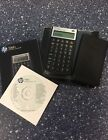 Used ~ HP 10 bll Financial Calculator ~ quick start guide & user guide CD