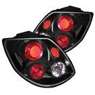 Toyota 03-05 Matrix Black Rear Tail Lights Brake Lamp Set XR XRS Base