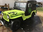 1946 Willys  1946 willys cj 2a