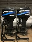 "Twin Pair Set 2000 Mercury Optimax 150 hp 2-Stroke 25"" Outboard 115 135 DFI OPTI"