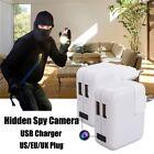 1080P Motion Detection 2 USB Port Mini DVR Hidden Spy Camera Wall Charger
